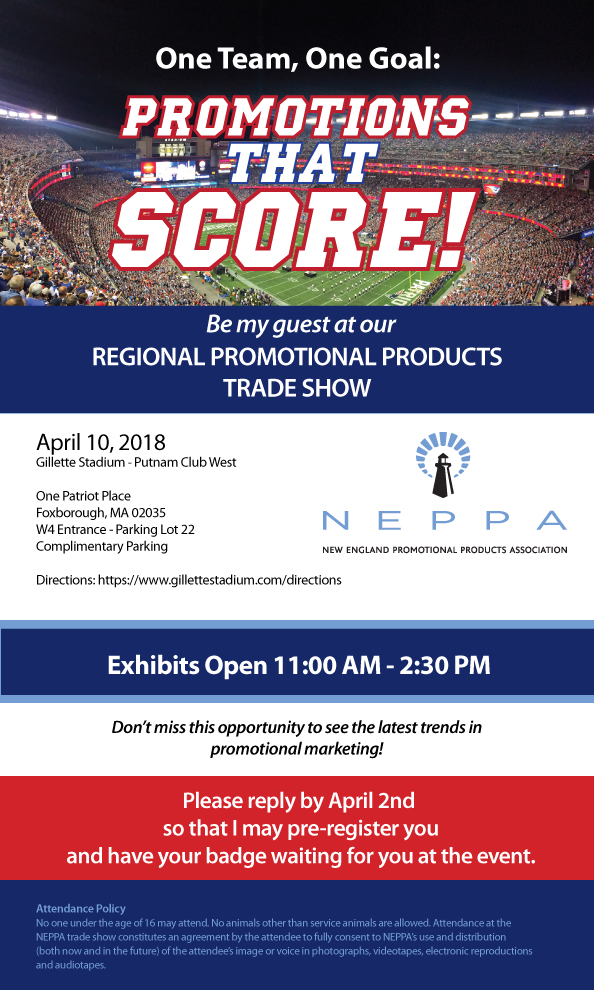 2018 NEPPA Season Opener Expo CLIENT REGISTRATION Client